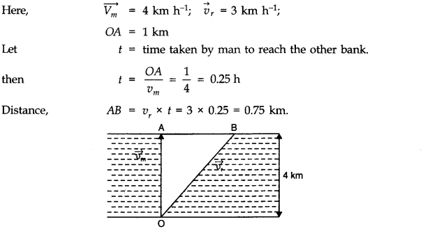 NCERT Solutions for Class 11 Physics Chapter 4 Motion in a Plane Q13