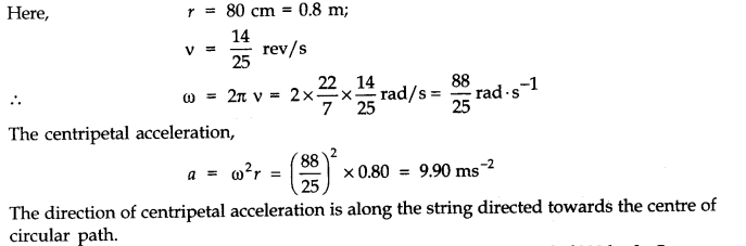 NCERT Solutions for Class 11 Physics Chapter 4 Motion in a Plane Q17