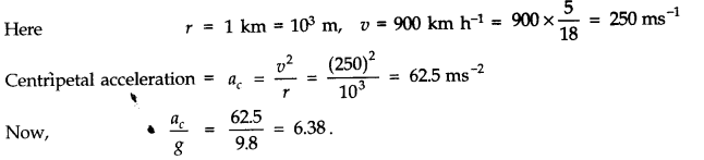 NCERT Solutions for Class 11 Physics Chapter 4 Motion in a Plane Q18