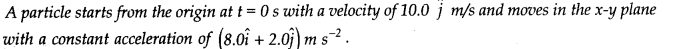 NCERT Solutions for Class 11 Physics Chapter 4 Motion in a Plane Q21