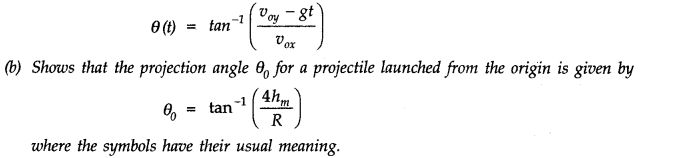 NCERT Solutions for Class 11 Physics Chapter 4 Motion in a Plane Q32
