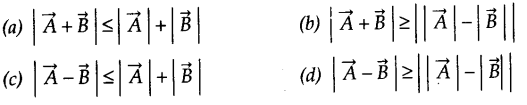 NCERT Solutions for Class 11 Physics Chapter 4 Motion in a Plane Q6