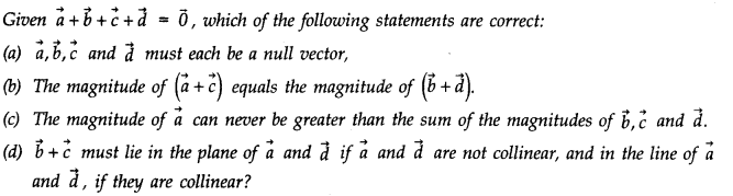 NCERT Solutions for Class 11 Physics Chapter 4 Motion in a Plane Q7