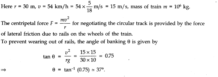 NCERT Solutions for Class 11 Physics Chapter 5 Laws of Motion Q31