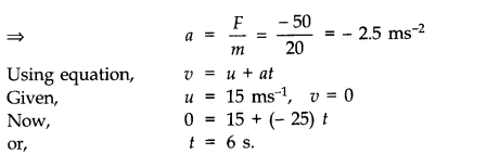 NCERT Solutions for Class 11 Physics Chapter 5 Laws of Motion Q5