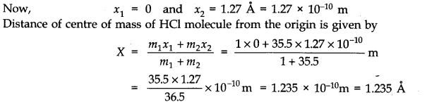 NCERT Solutions for Class 11 Physics Chapter 7 System of Particles and Rotational Motion Q2.1