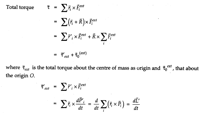 NCERT Solutions for Class 11 Physics Chapter 7 System of Particles and Rotational Motion Q33.5