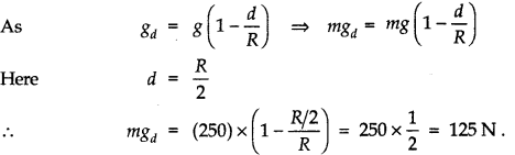NCERT Solutions for Class 11 Physics Chapter 8 Gravitation Q16
