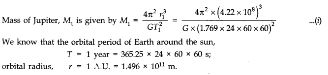 NCERT Solutions for Class 11 Physics Chapter 8 Gravitation Q4