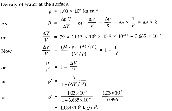 NCERT Solutions for Class 11 Physics Chapter 9 Mechanical Properties of Solids Q13.1