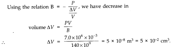 NCERT Solutions for Class 11 Physics Chapter 9 Mechanical Properties of Solids Q15