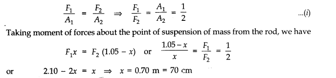 NCERT Solutions for Class 11 Physics Chapter 9 Mechanical Properties of Solids Q18.1