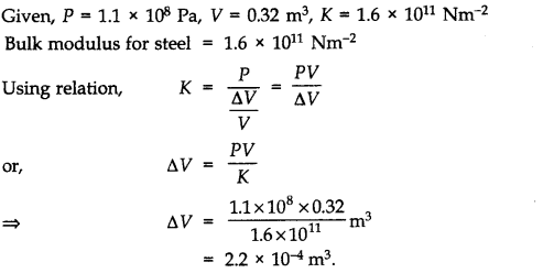 NCERT Solutions for Class 11 Physics Chapter 9 Mechanical Properties of Solids Q21