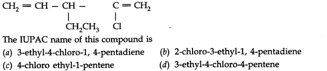 NCERT Solutions for Class 11th Chemistry Chapter 12 Organic Chemistry Some Basic Principles and Techniques MCQ Q9