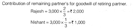 NCERT Solutions for Class 12 Accountancy Chapter 4 Reconstitution of a Partnership Firm – Retirement Death of a Partner Numerical Questions Q11.7