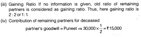NCERT Solutions for Class 12 Accountancy Chapter 4 Reconstitution of a Partnership Firm – Retirement Death of a Partner Numerical Questions Q8.5