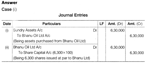 NCERT Solutions for Class 12 Accountancy Part II Chapter 1 Accounting for Share Capital Numerical Questions Q9