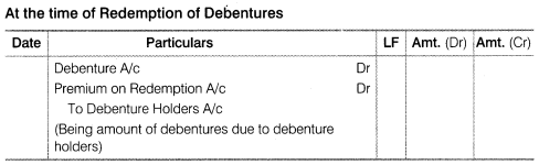 NCERT Solutions for Class 12 Accountancy Part II Chapter 2 Issue and Redemption of Debentures SAQ Q17.2